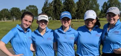 Seaside girls golf team