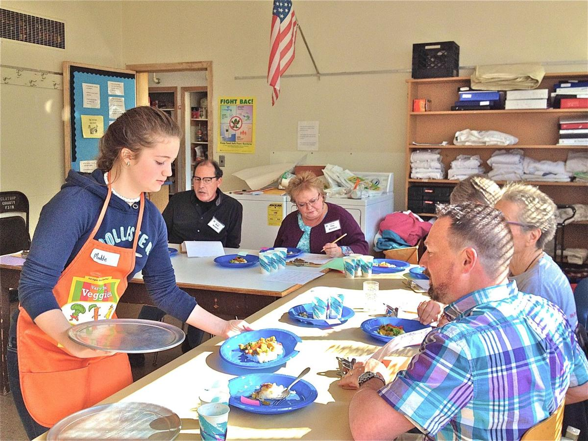 Middle schoolers go head to head in friendly cook-off