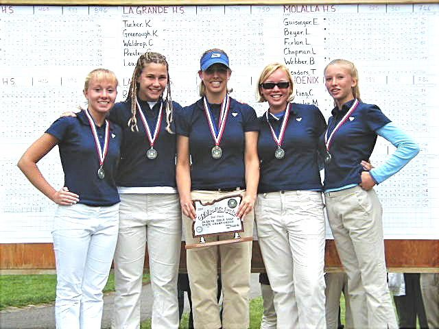 2001 Girls Golf