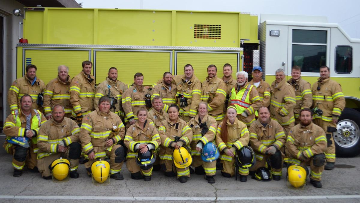 Gearhart firefighters