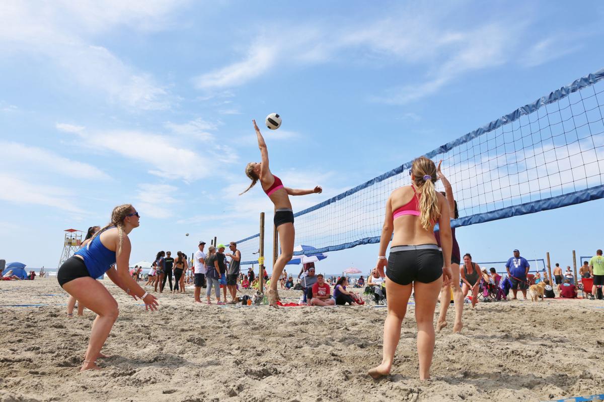 Sand, sunshine and spikes