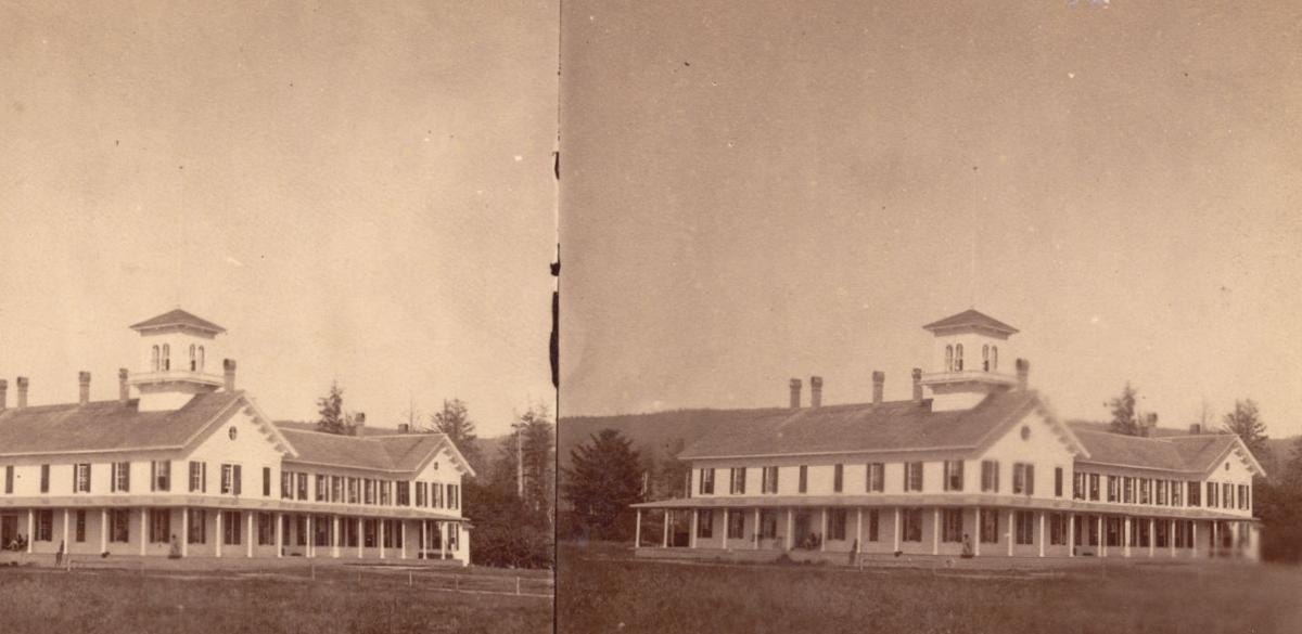 Stereo view of Seaside House