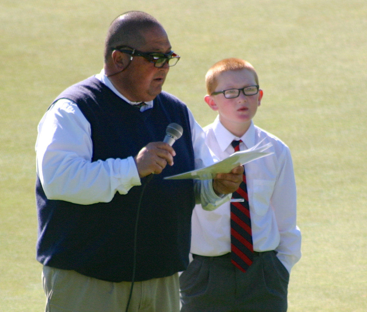 Young golfer is rising star