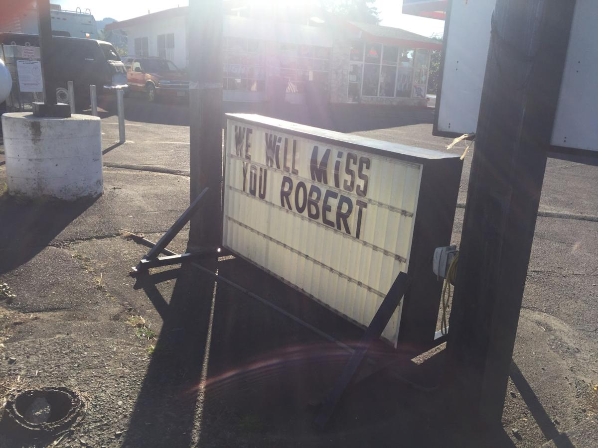 'We will miss you Robert'