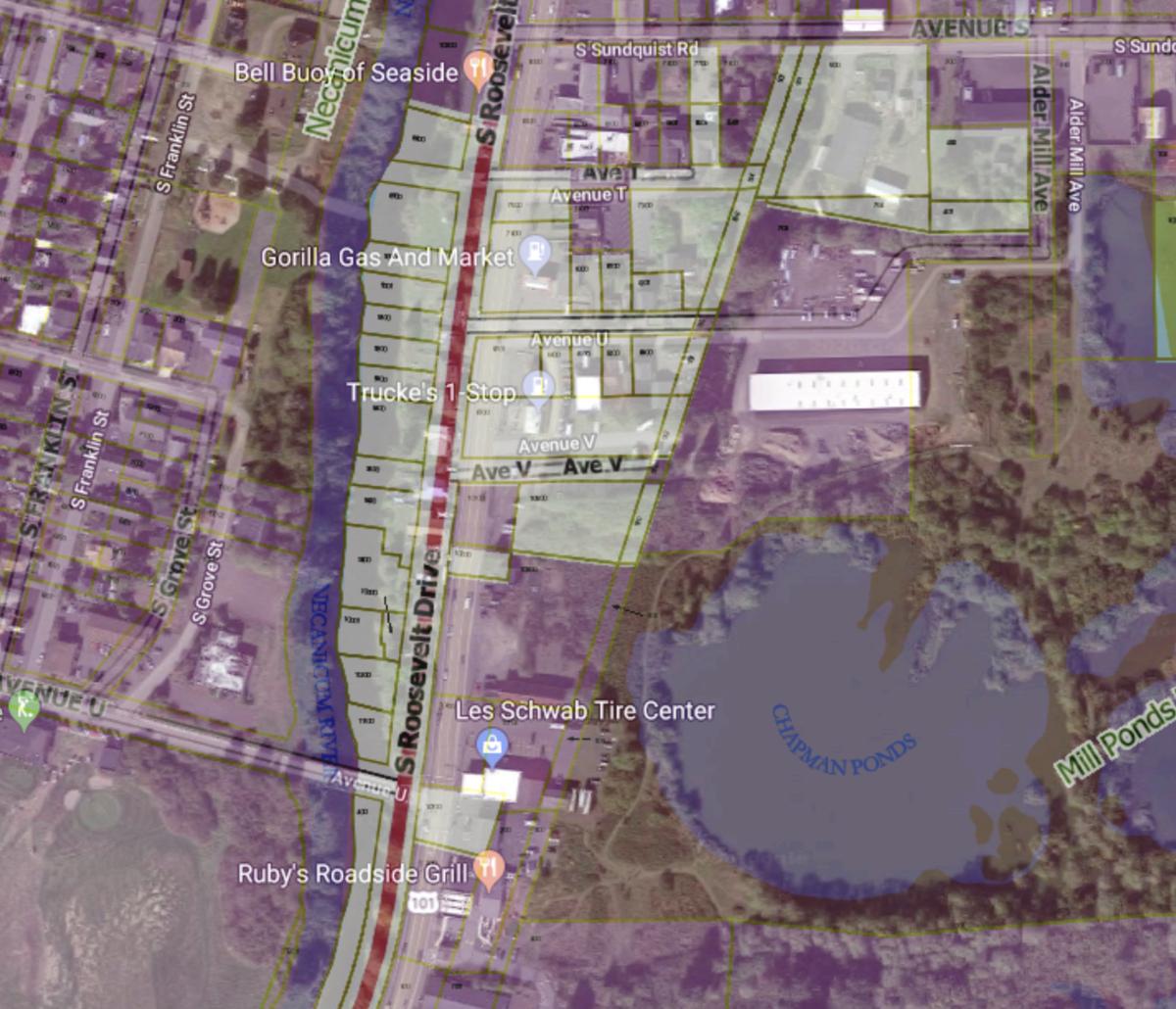 Seaside annexation plan