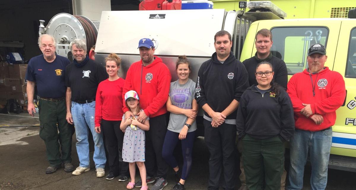 Gearhart firefighters return