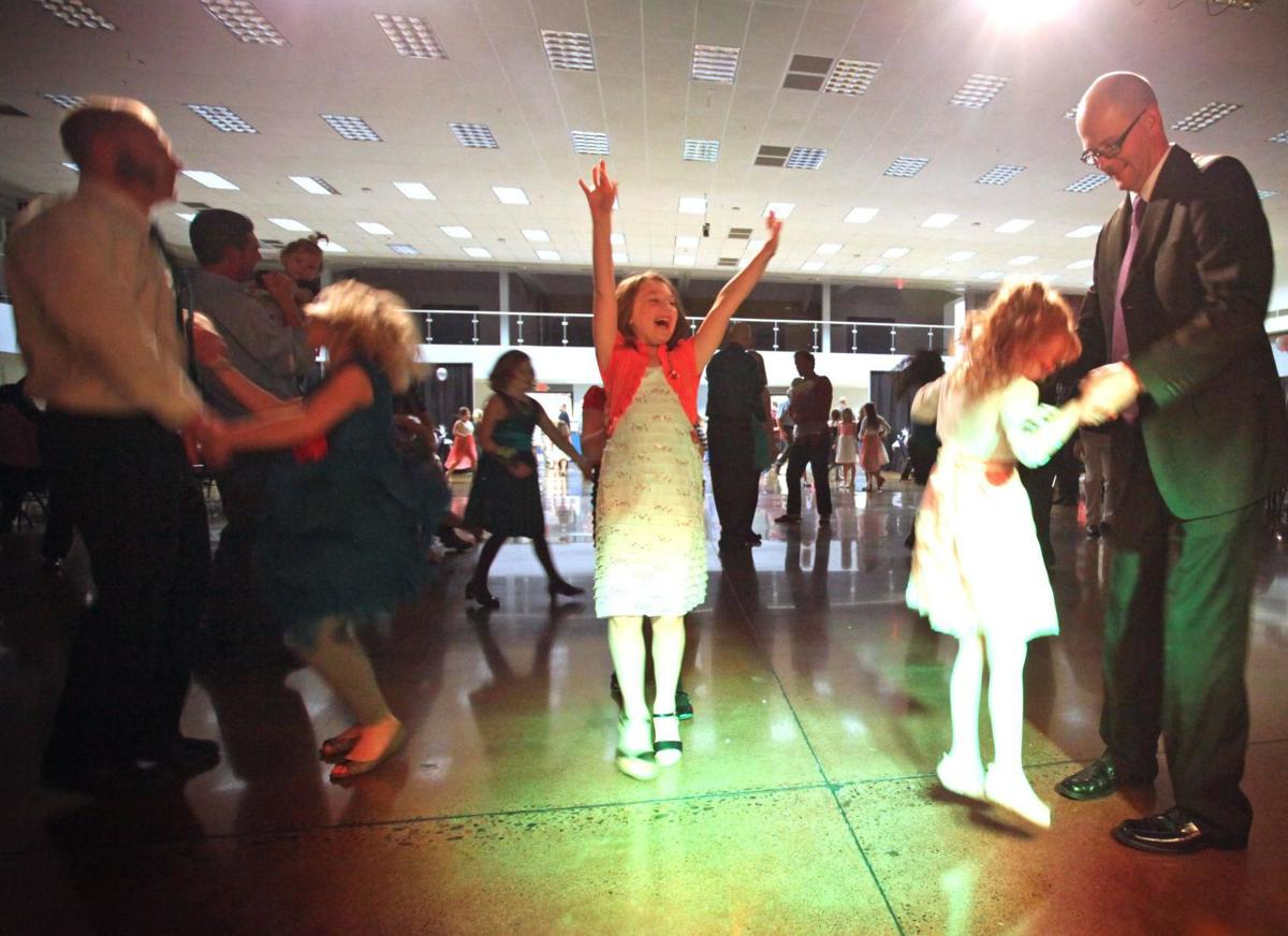 Fun at the Daddy Daughter Dance