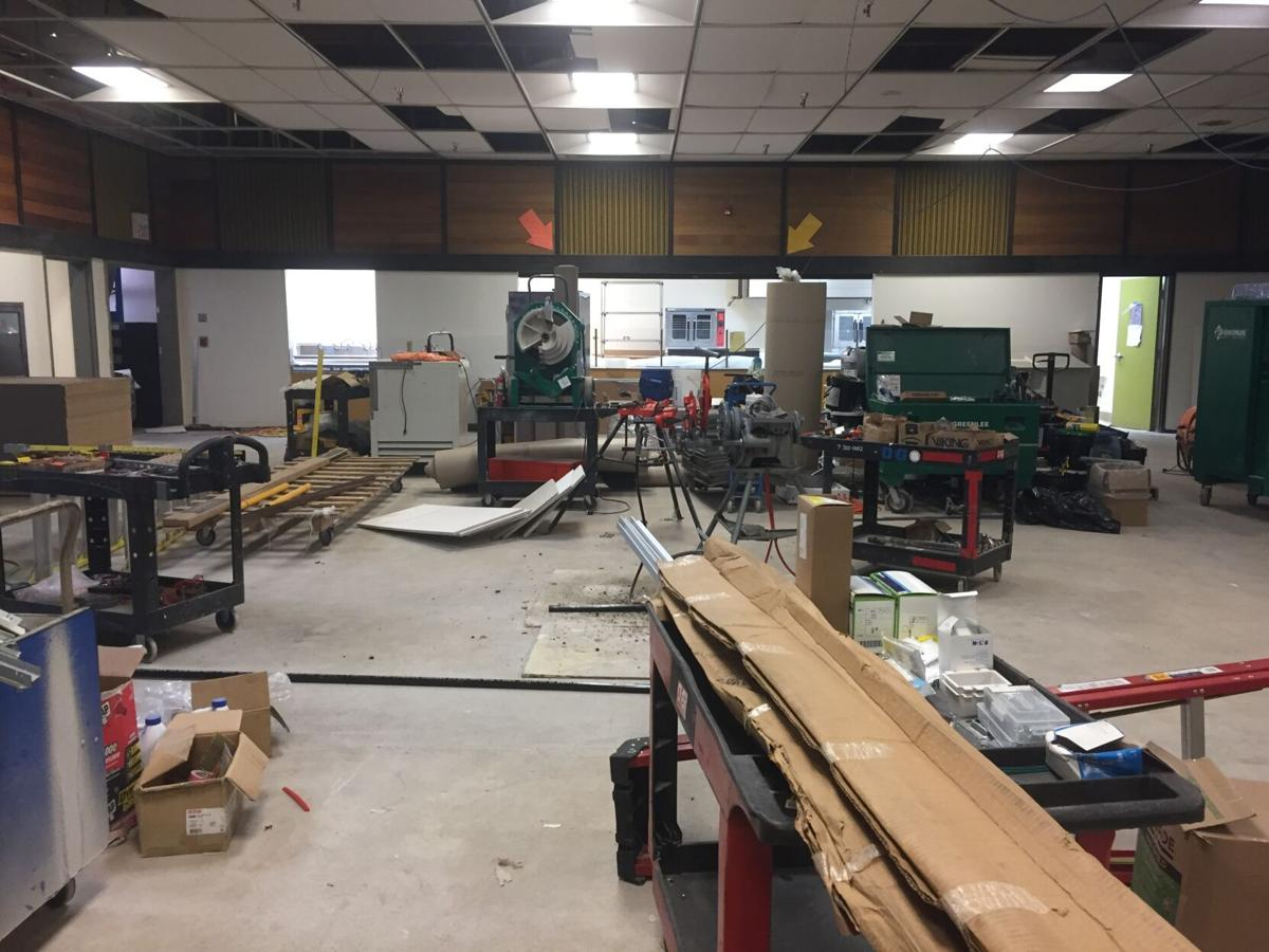 Construction at Pacific Ridge