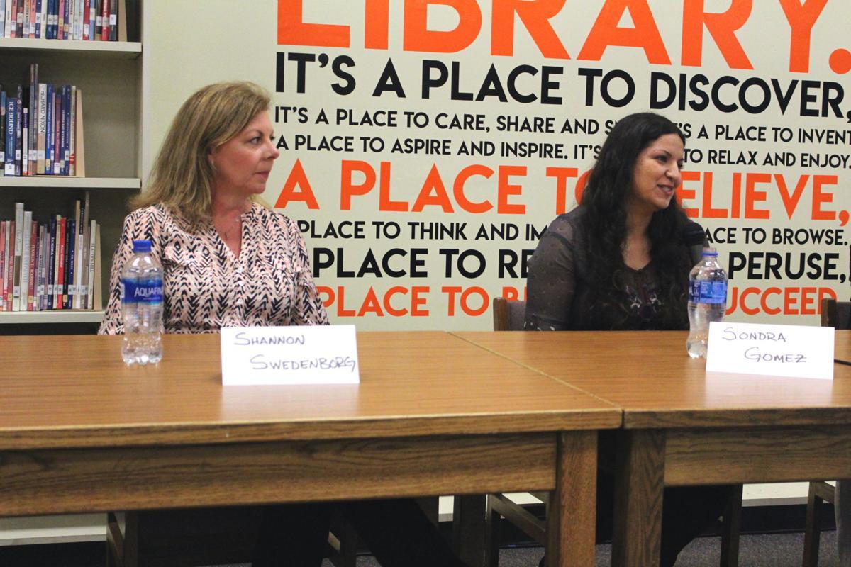 Shannon Swedenborg and Sonda Gomez