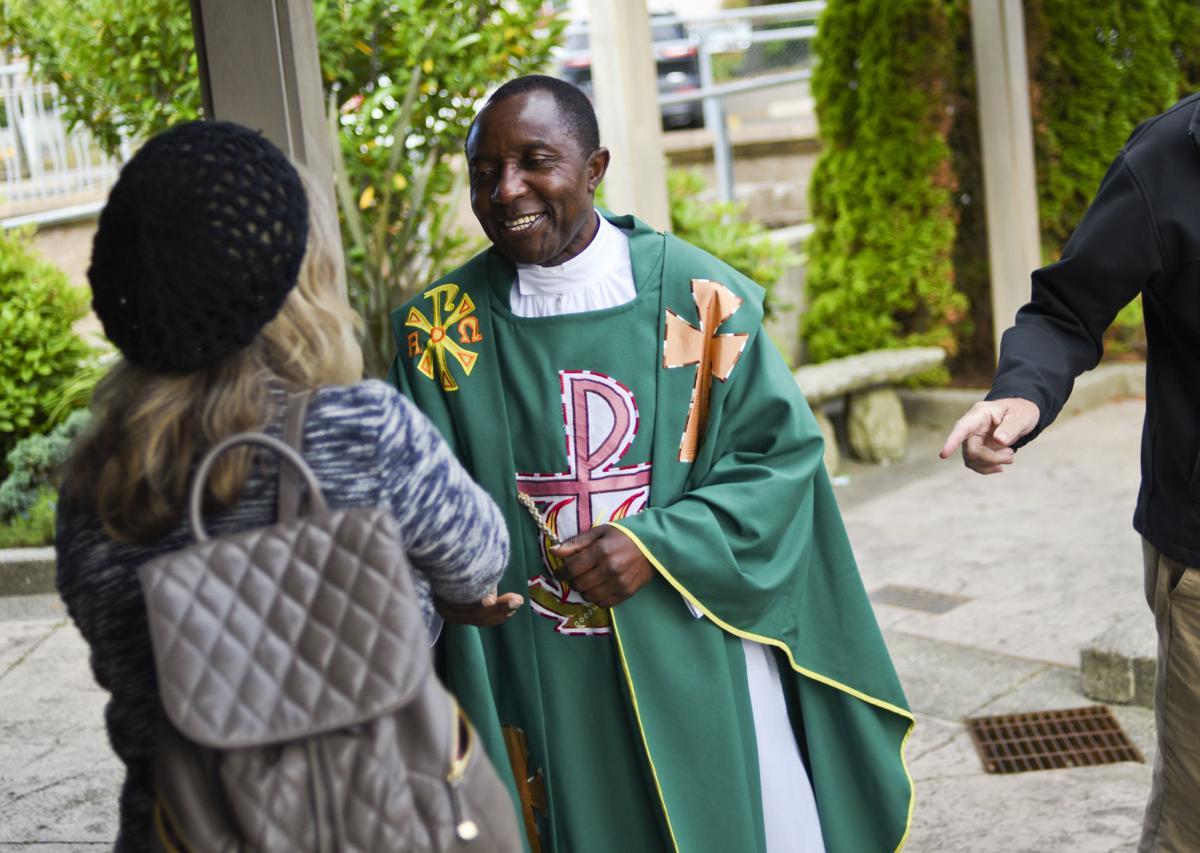 Saying farewell to Father Nick