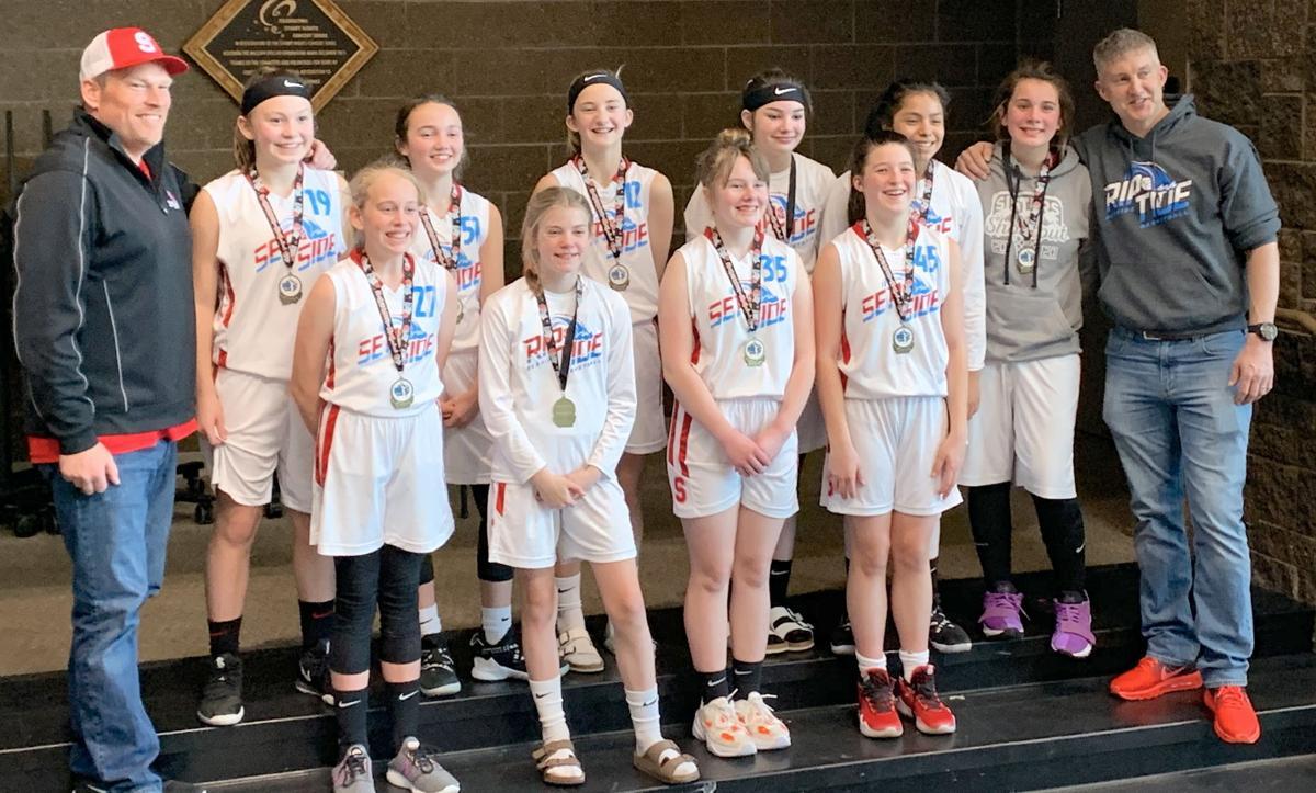 Seaside Riptide, sixth grade girls basketball