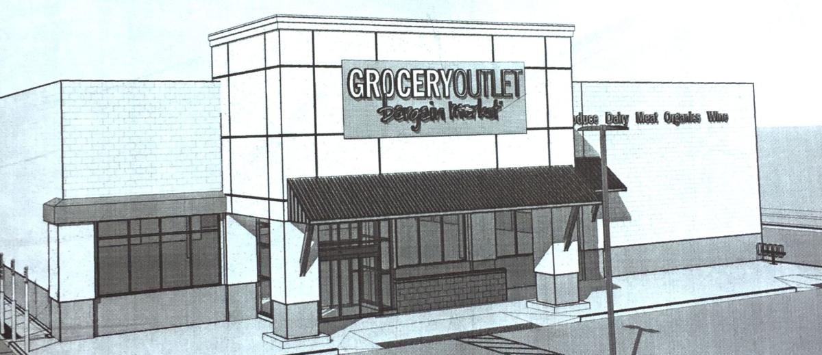 Rendering of Seaside Grocery Outlet