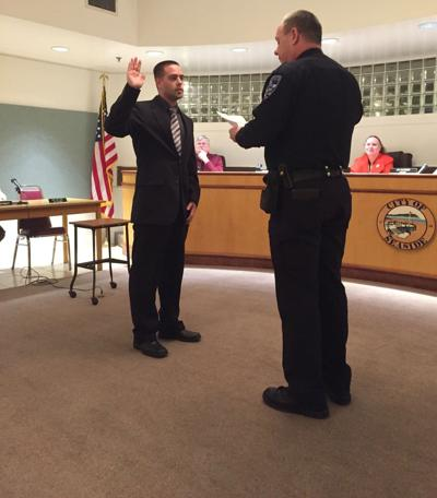 Officer sworn in at City Council ceremony