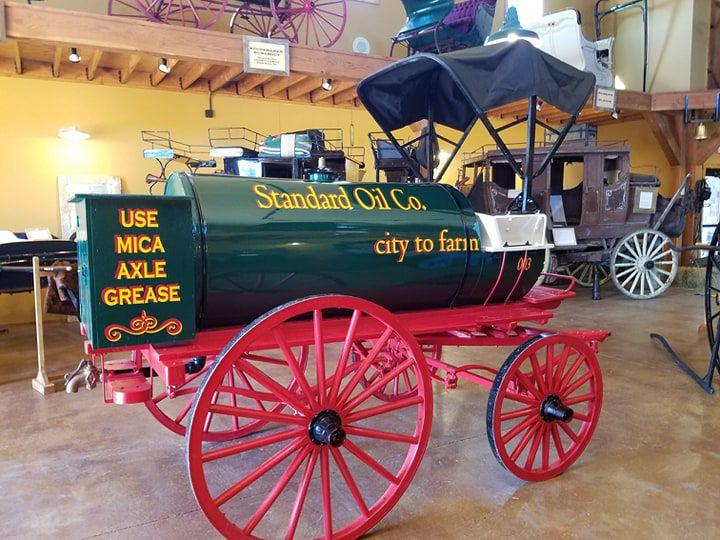 Kerosene wagon