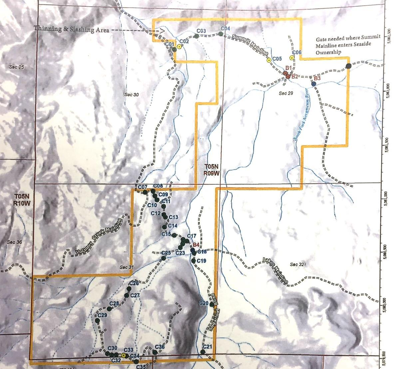 Bridge and culvert map