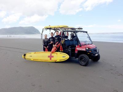 Mother, daughter saved from rough Seaside surf