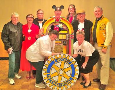 Rock Around the Clock at the Rotary Foundation dinner