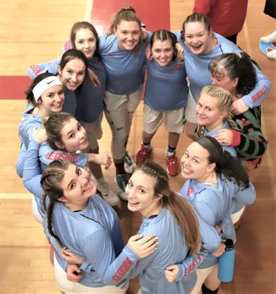 Seaside girls basketball team