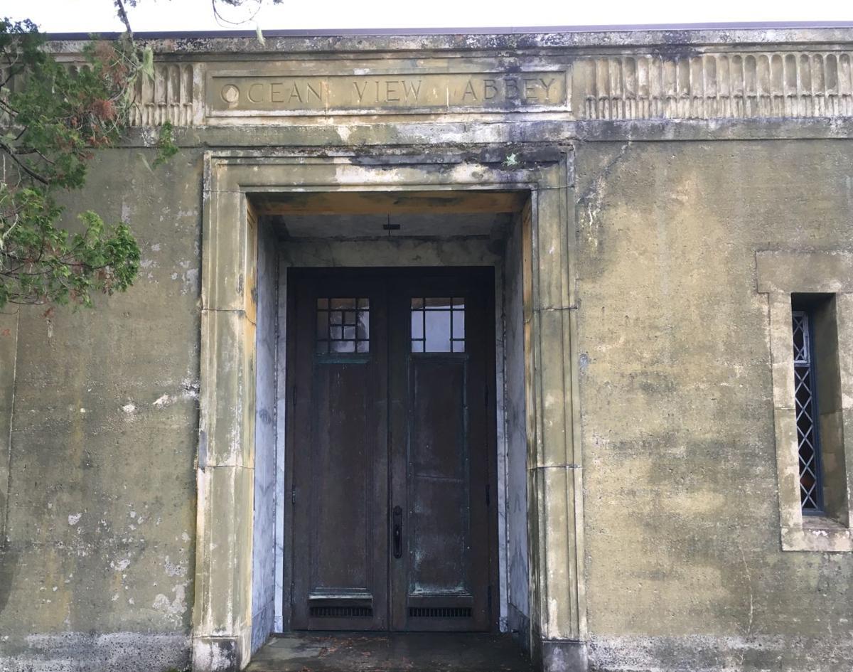 The door was open