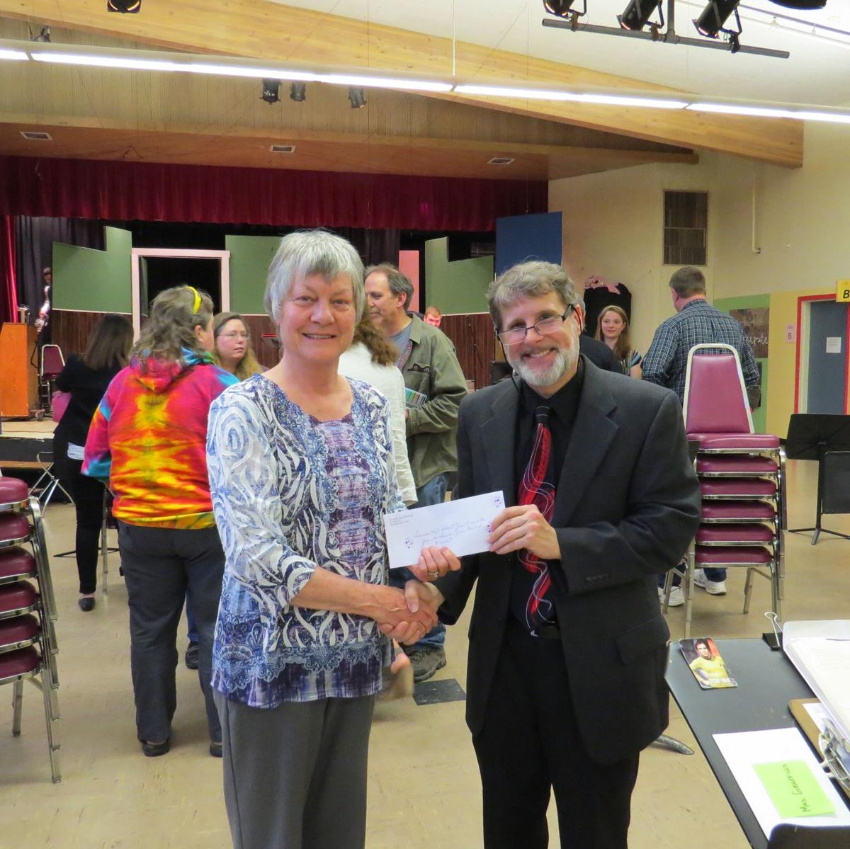 Lighthouse Society donates to jazz ensemble