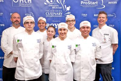 Culinary students win third at state championship