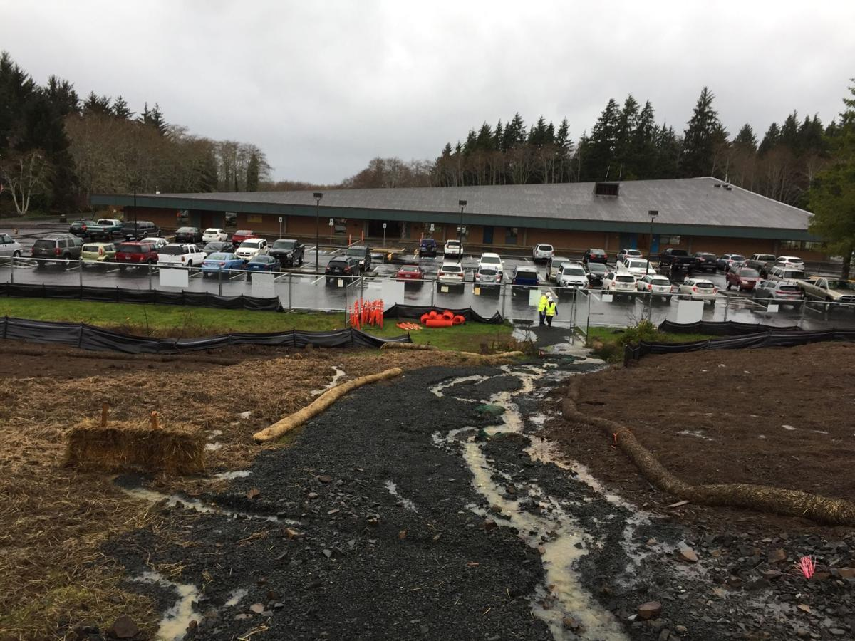 Drainage at work
