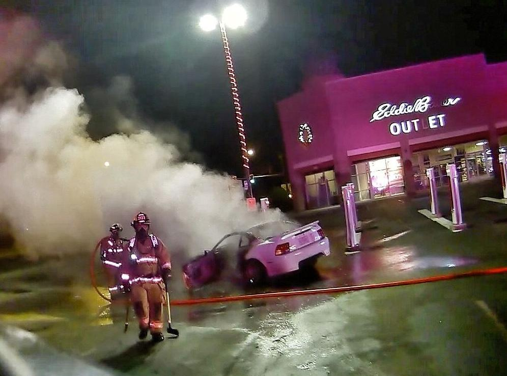 Fire at Seaside Outlet