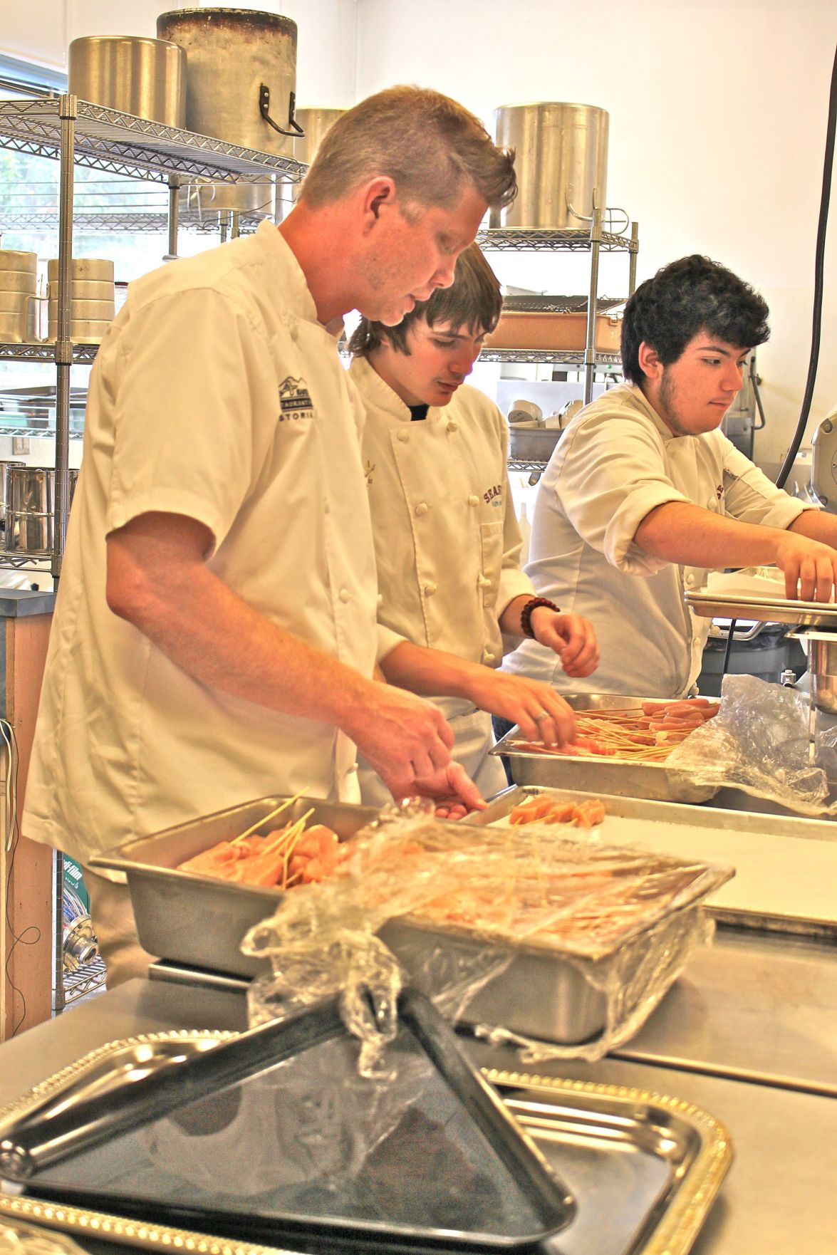 There's a new chef cooking in Seaside High's kitchen