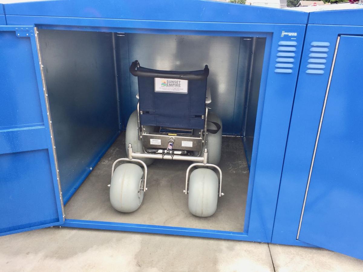 Wheelchair storage