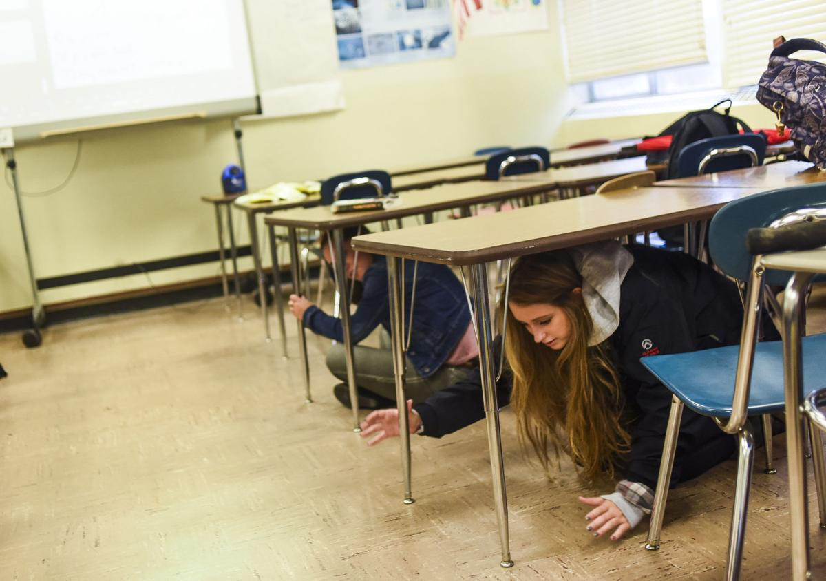 Drills, awareness to mark Great Oregon Shakeout Day