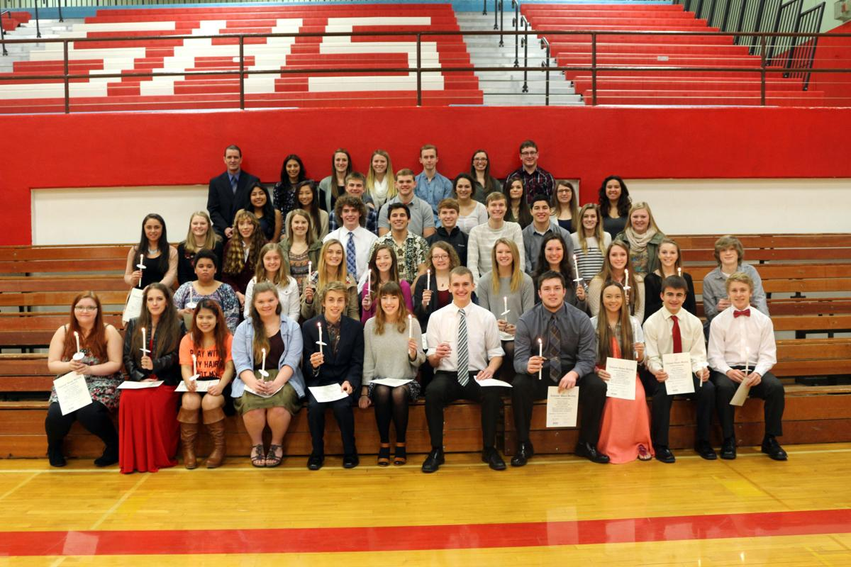 National Honor Society: Top of their class