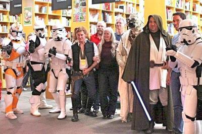 Star wars comes to the Seaside Public Library