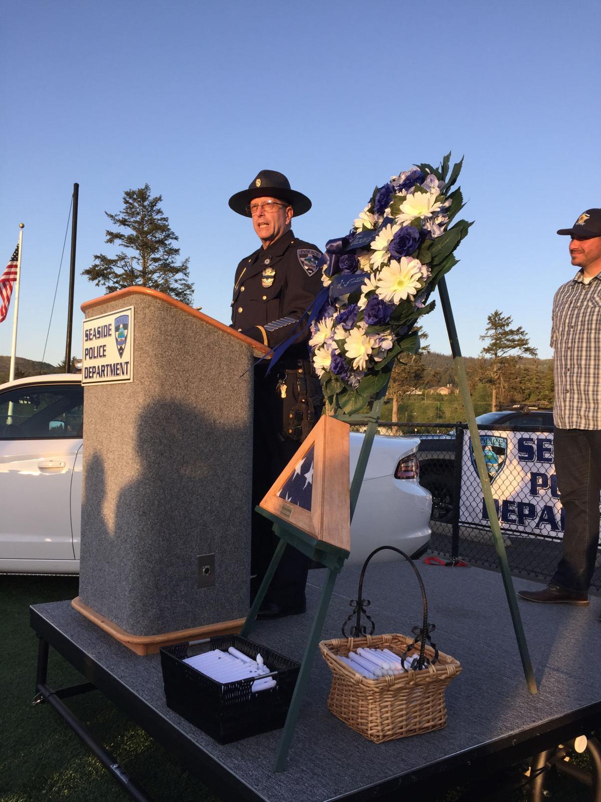 Vigil recalls fallen officers