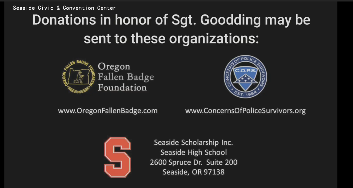 In honor of Sgt. Jason Goodding