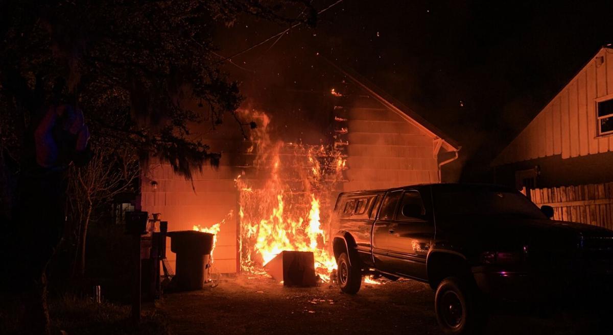 Overnight fire