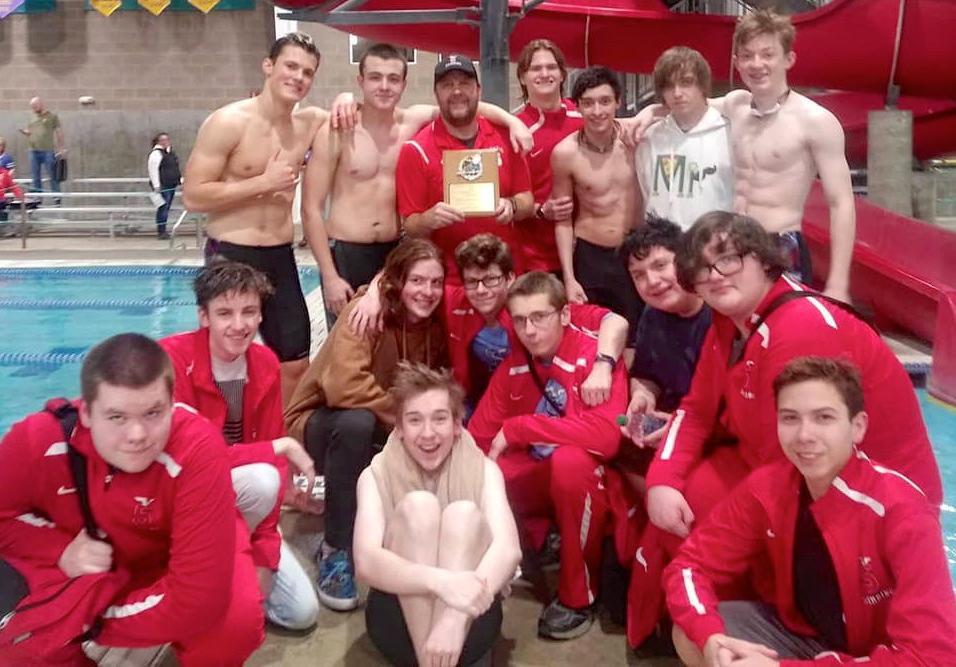 Seaside boys swim team