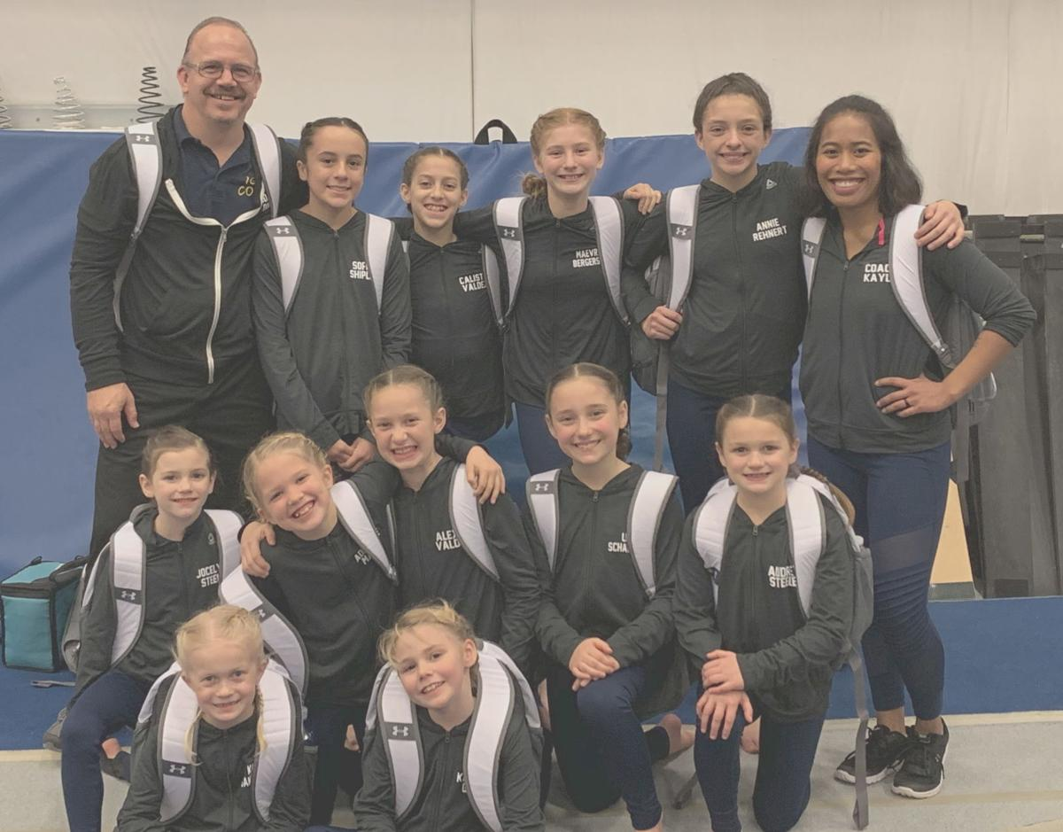 Infinity Gymnastics' competition team