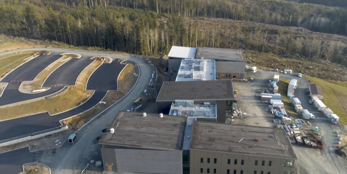 Drone footage at new campus
