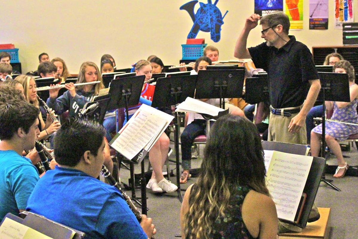 Seaside High band boasts 92 students this year