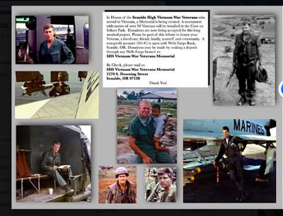 Vietnam Memorial sought