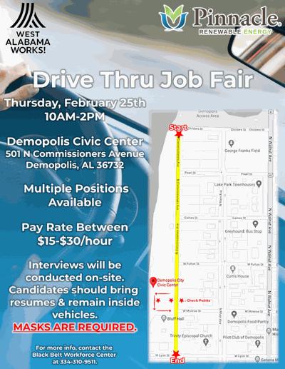 Demopolis Job Fair Flyer