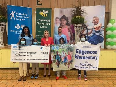 Edgewood Elementary Blue Cross grant