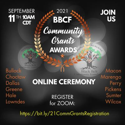 2021 BBCF Community Grants Awards
