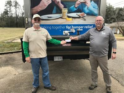 United Way donation to Selma Area Food Bank