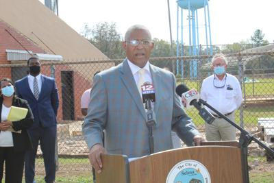 Perkins first press conference as mayor