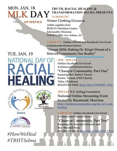 Racial Healing Day event