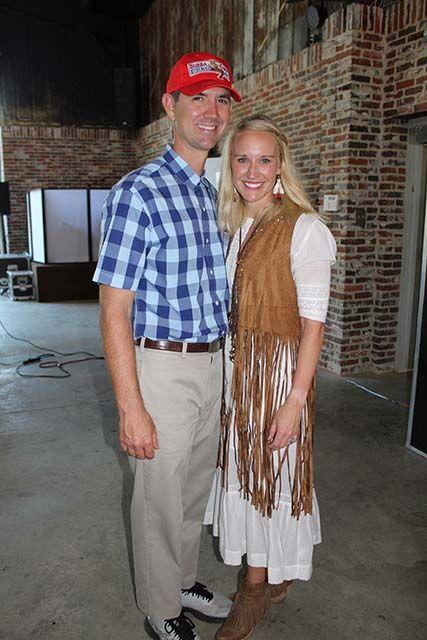 Rayne and James Osborn