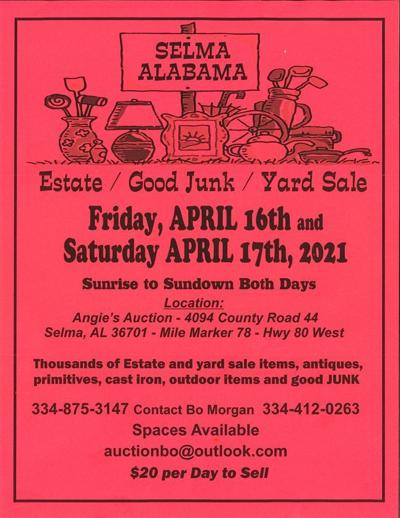 2021 Historic Hwy 80 Sale
