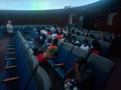 Xsel at planetarium