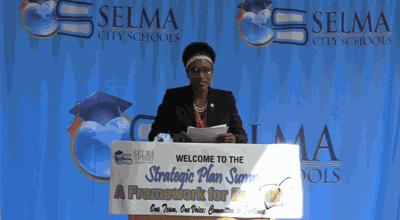 Avis Williams at Strategic Plan Summit
